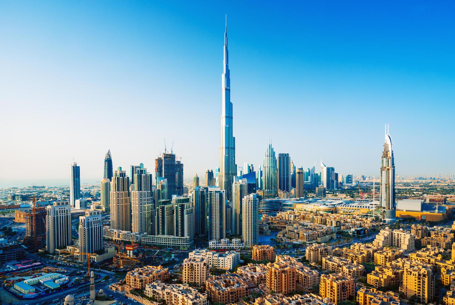 Дубай в Эмиратах