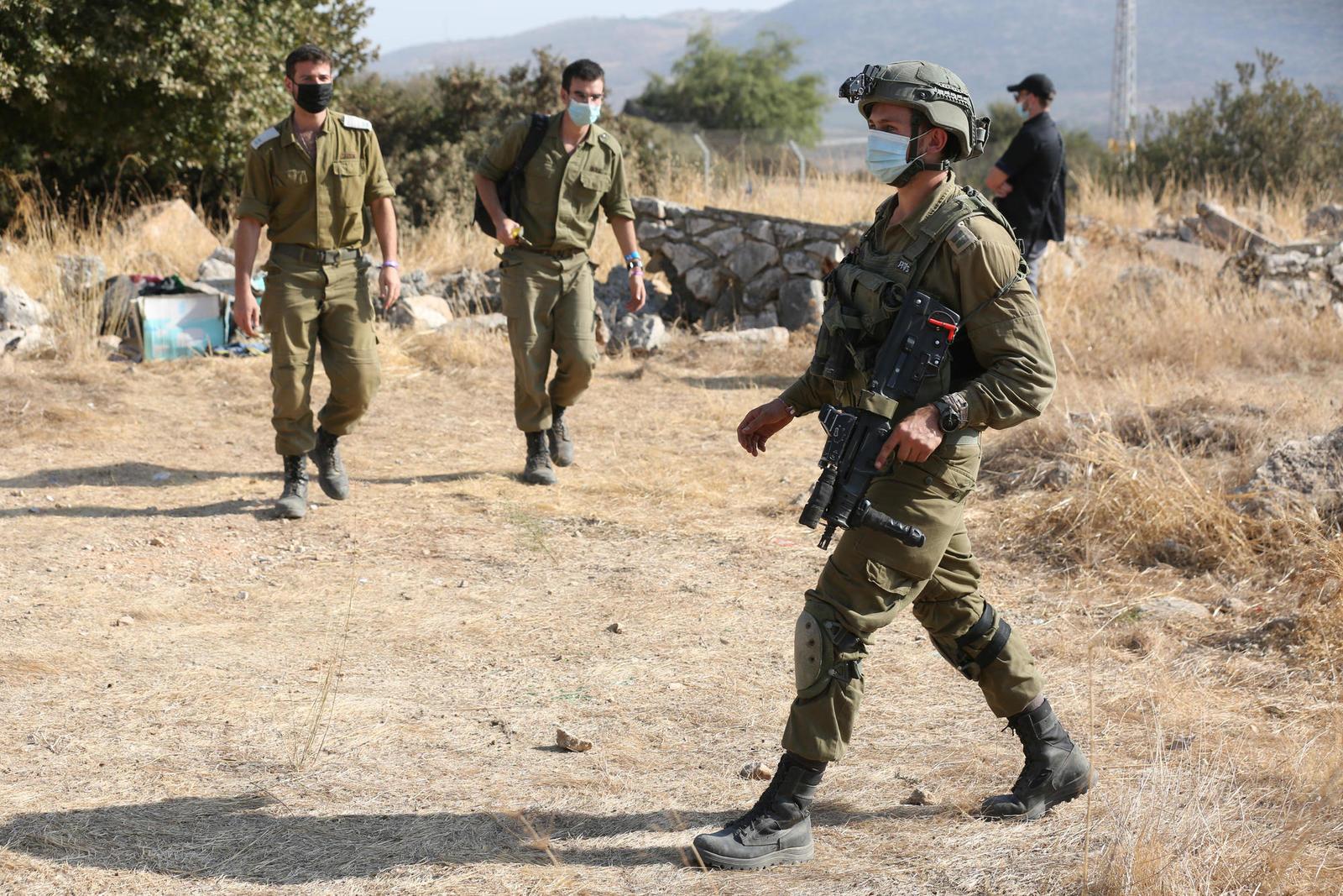 Палестинца застрелили в округе Биньямин