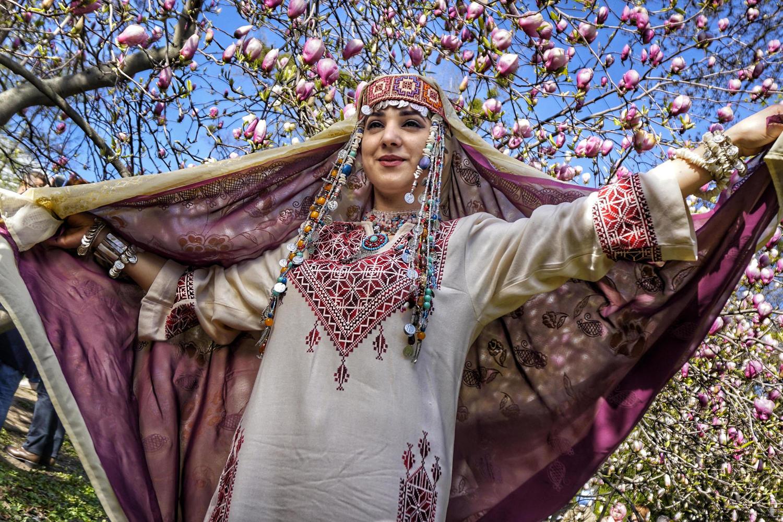 Израильская полиция разогнала выставку палестинских традиционных платьев