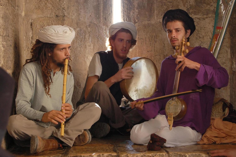 еврейские музыканты из Йемена в Иерусалиме