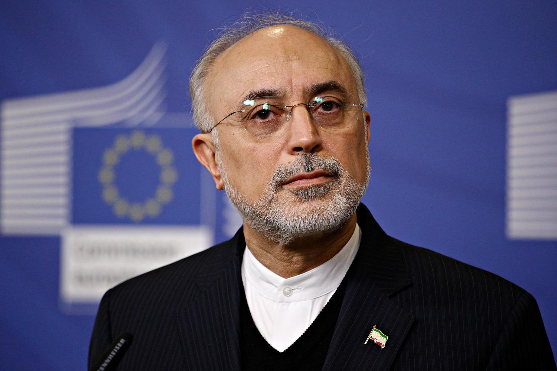 Али Акбар Салехи на семинаре по ядерному сотрудничеству в Брюсселе, 2018 г.