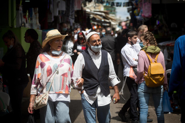 Минздрав наконец разрешает израильтянам ходить по улицам без масок