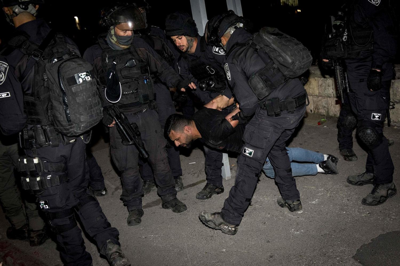 По итогам ночных беспорядков в Иерусалиме задержано 15 человек