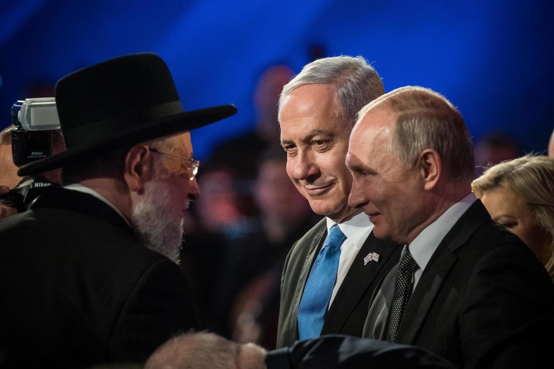 В критический момент своей карьеры Нетанияху позвонил Путину