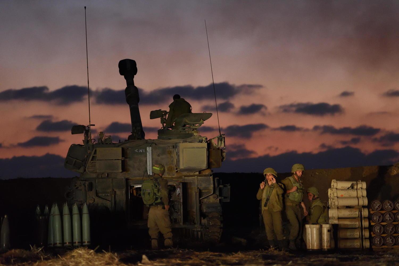 артиллерия ЦАХАЛа, 13 мая 2021