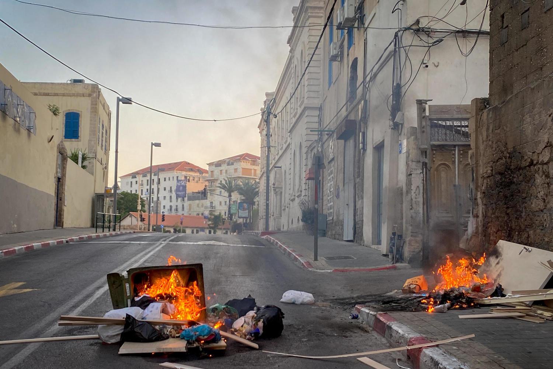 Полиция: вероятно, арабский дом в квартале Аджами подожгли арабы