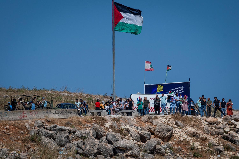 ливанская демонстрация у израильской границы, 15 мая