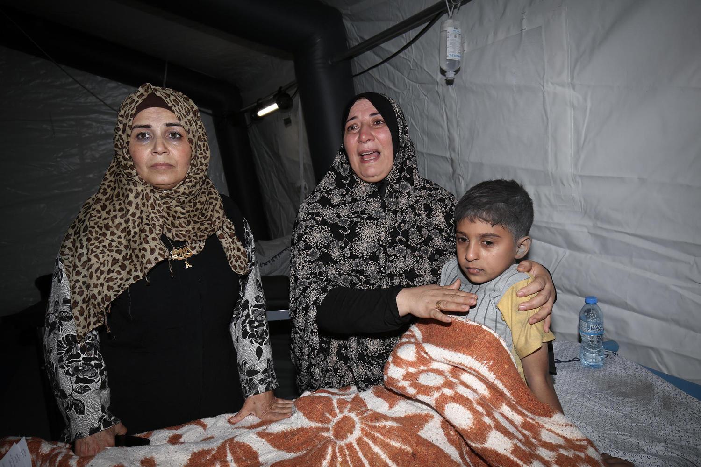 полевой госпиталь в Газе