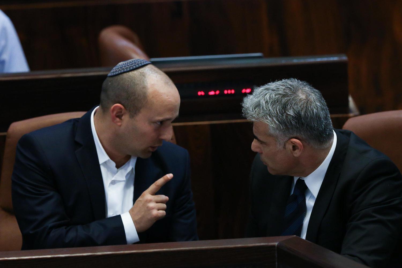 Опубликовано коалиционное соглашение между «Еш Атид» и «Ямина»: полный текст
