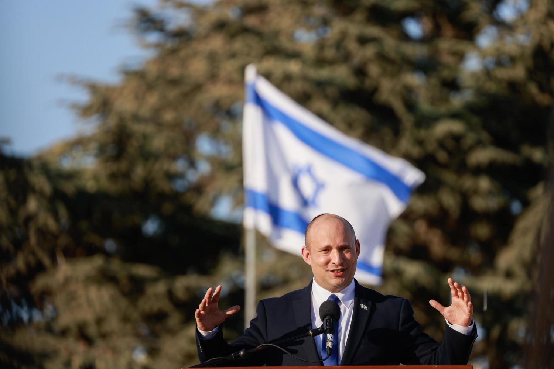 премьер-министр Беннет на официальной церемонии в Иерусалиме