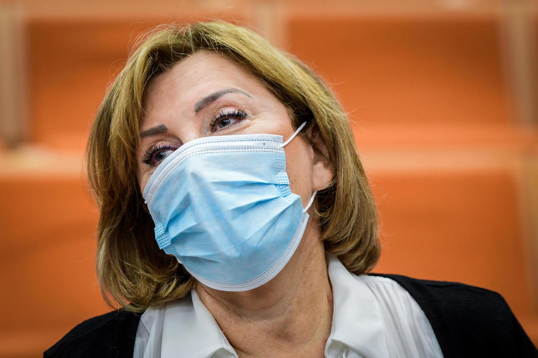 Фаина Киршенбаум на оглашении приговора.