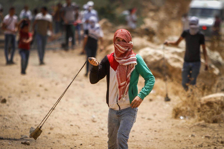 Столкновения возле селения Бейт Даджан