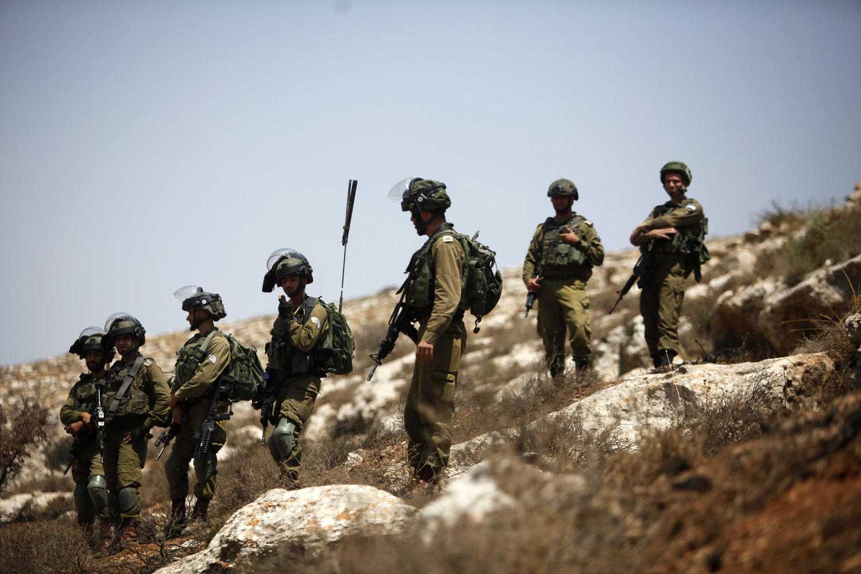 солдаты ЦАХАЛа в Самарии
