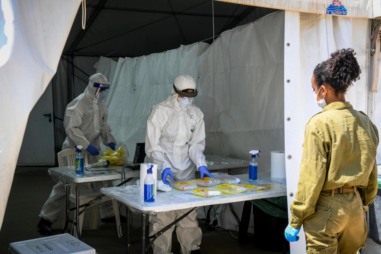 ЦАХАЛ играет ключевую роль в борьбе с пандемией с самого ее начала