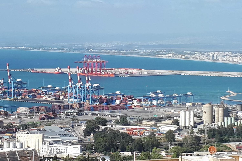 новый порт в Хайфе