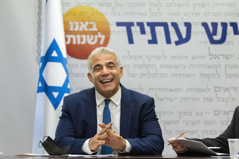 Министр иностранных дел Яир Лапид.