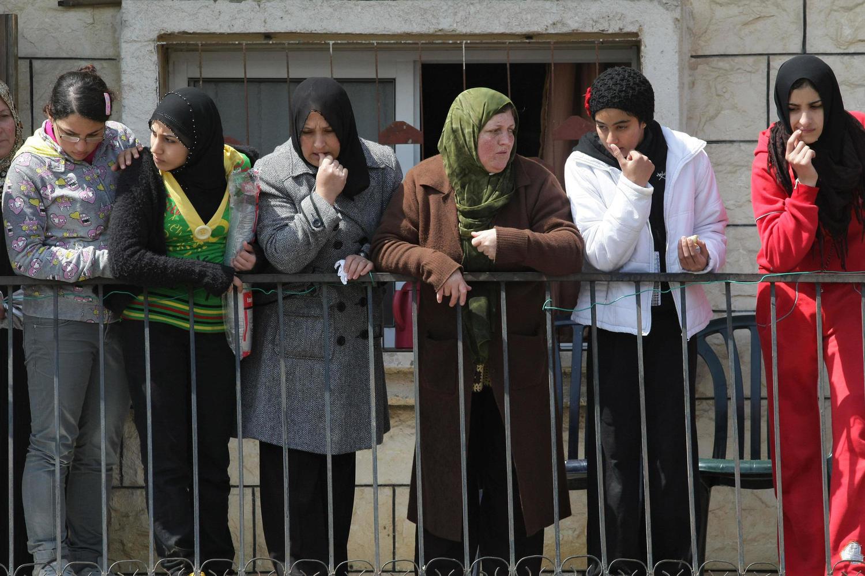 женщины в Умм эль-Фахме