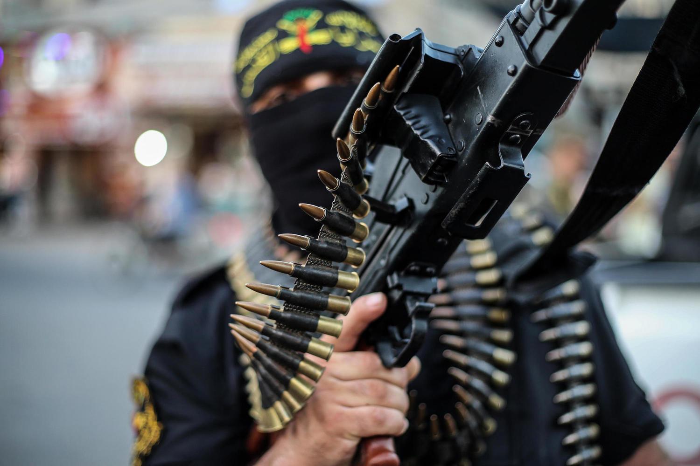 боевик «Исламского Джихада» в Секторе Газа.