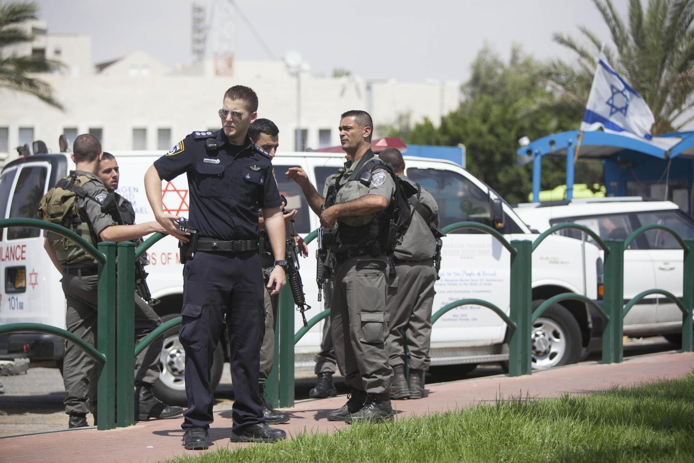 иллюстрация: полиция в Маале Адумим