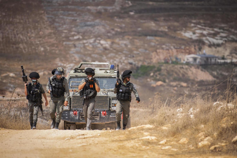 Отряд МАГАВ недалеко от Ицхара