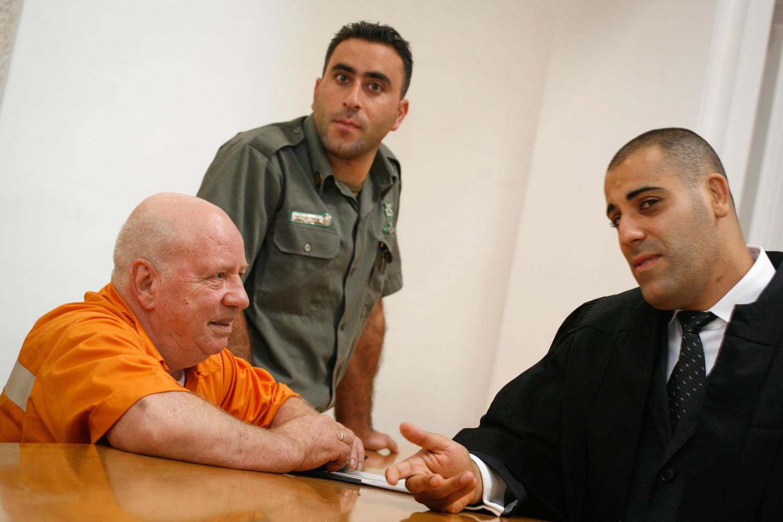 Цви Гур на заседании суда, 2009