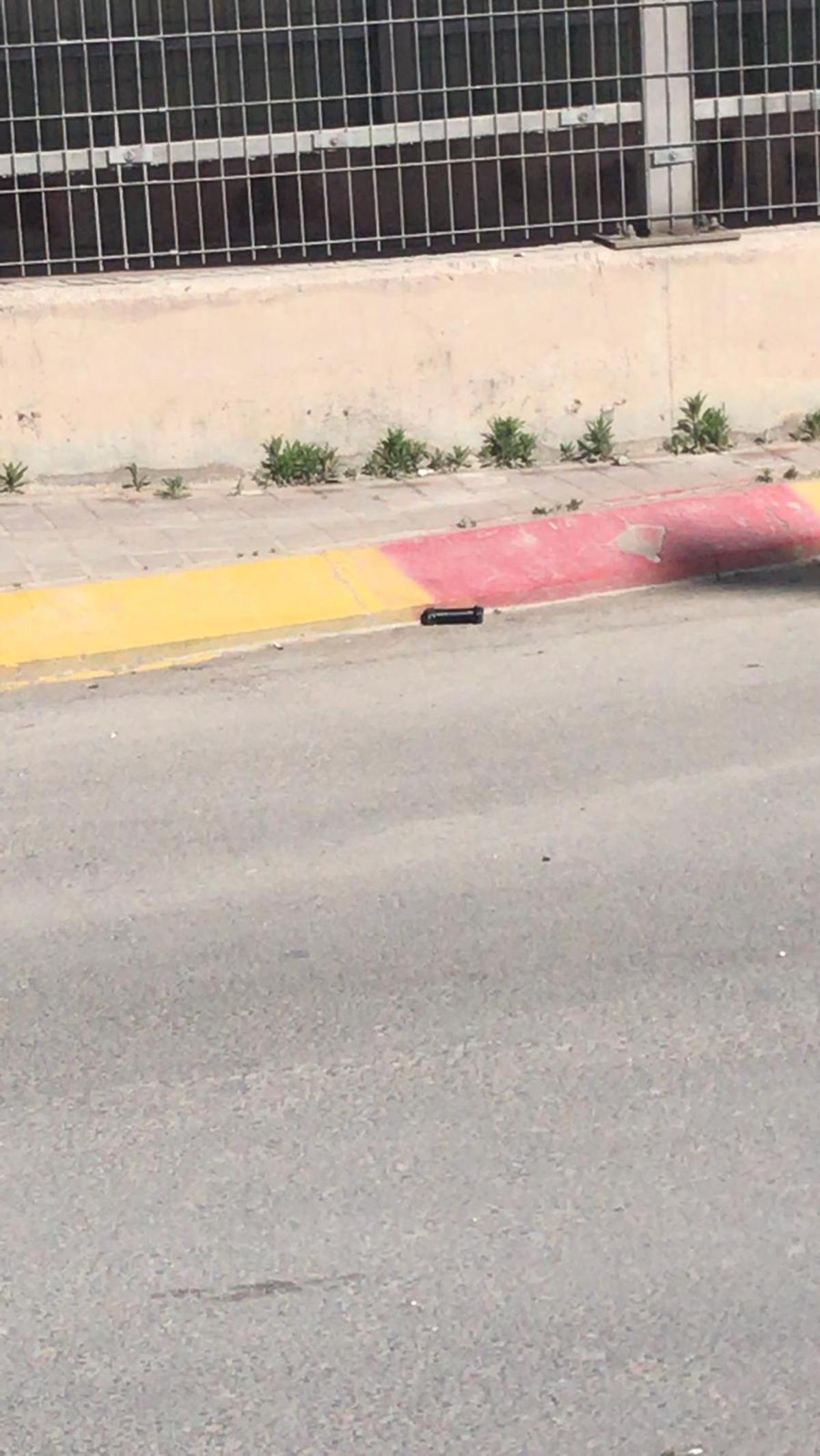 Возле пограничного перехода «Каландия» обезврежена бомба