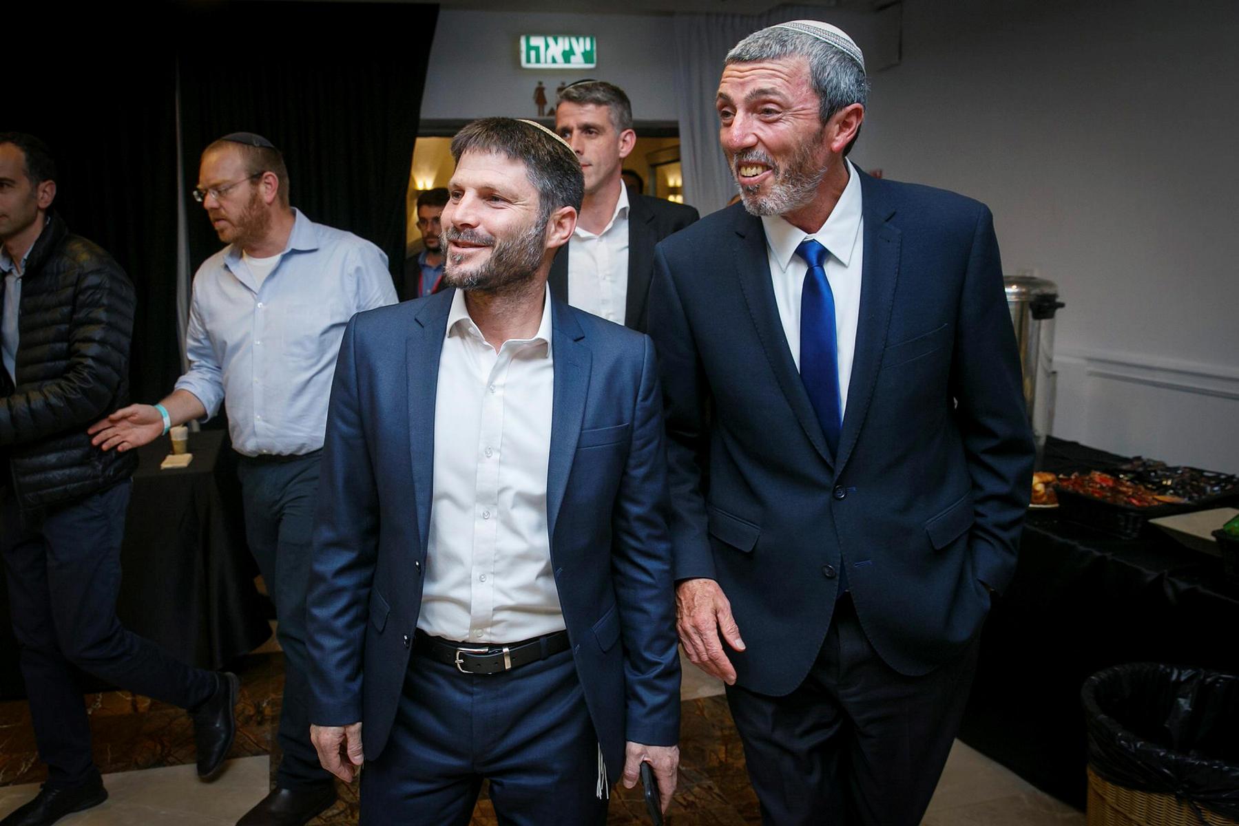 Лидеры «Альянса правых партий» Рафи Перец и Бецалель Смотрич отказались встречаться с Нетанияху