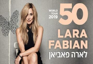 Lara Fabian - לארה פביאן - World Tour 50
