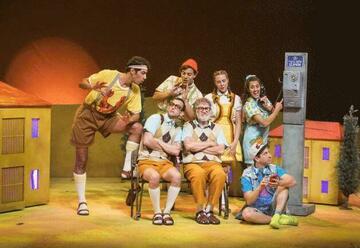 תיאטרון ארצי לילדים ונוער - הכל זהב