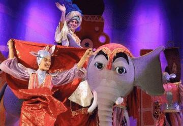 תיאטרון אורנה פורת - אלאדין ומנורת הקסמים