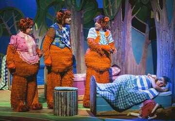 אורנה פורת - זהבה ושלושת הדובים